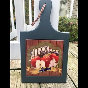 Country style Apple wall Art